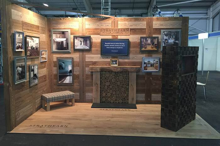 branding an exhibition stand