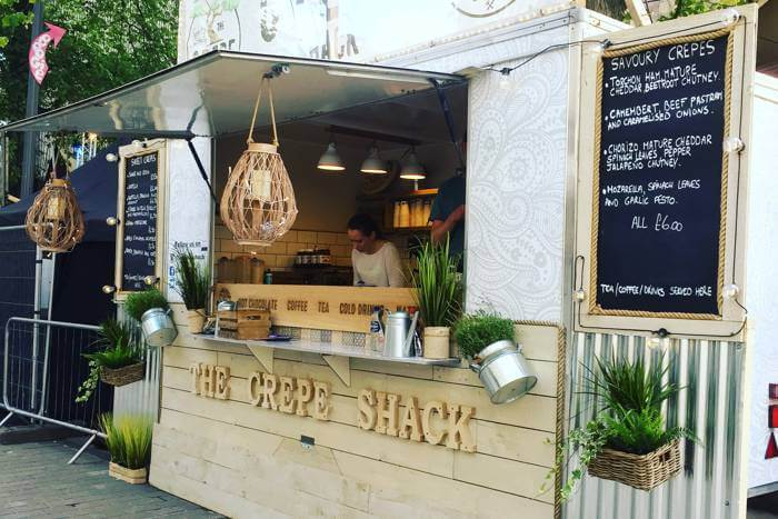 The Crepe Shack at the Edinburgh Festival