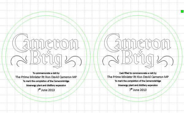 Cameron Brig artwork proofs