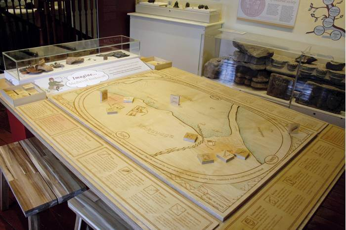 Orkney Museum table top game