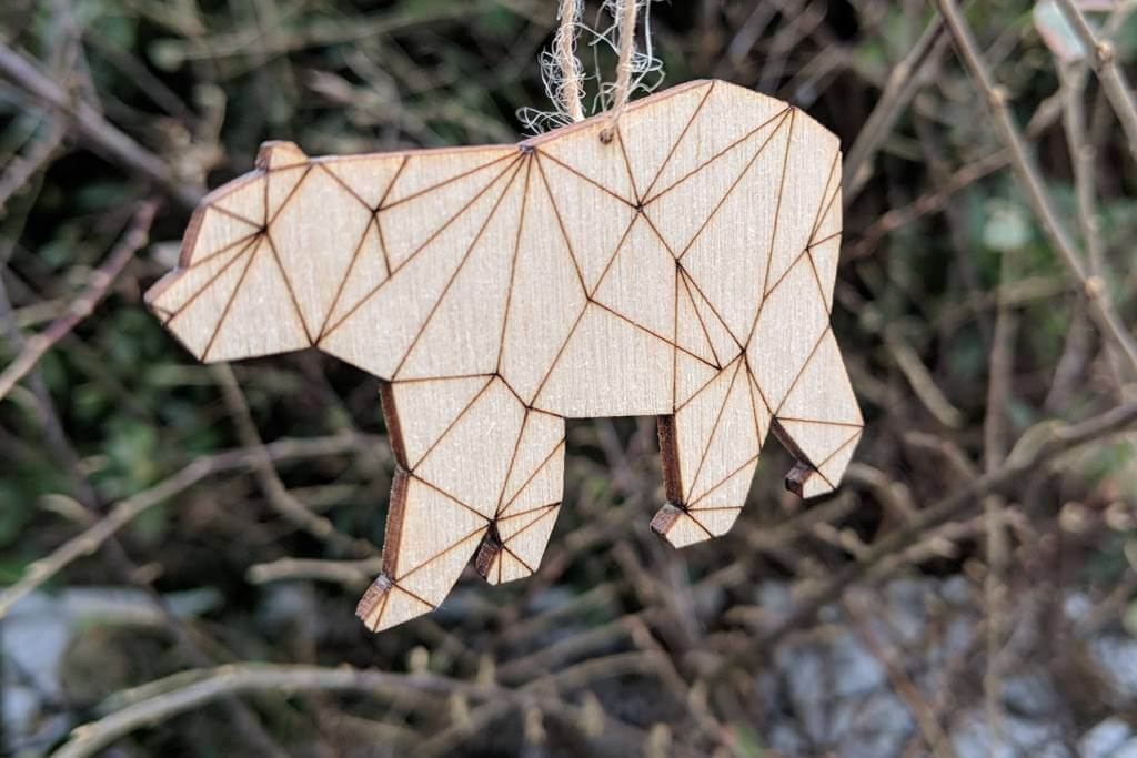 Jessica Taylor plywood decorations