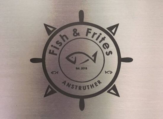 Fish & Frites festival menu boards