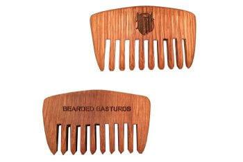 beard comb branding