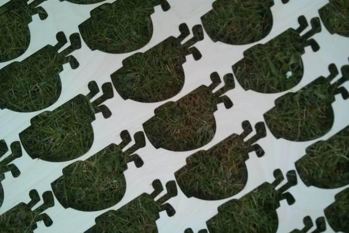 laser cut golf bag tags