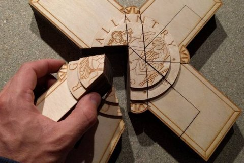 George Cross puzzle for Museum of London