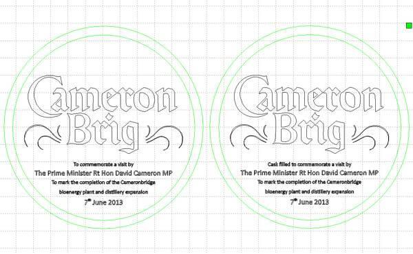 Cameron Brig artwork proofs