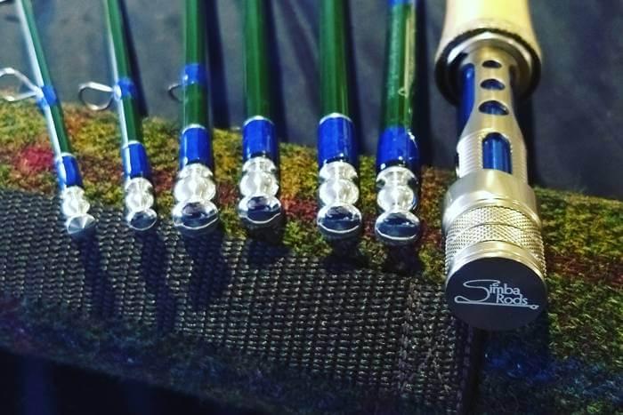 Branding fishing rods