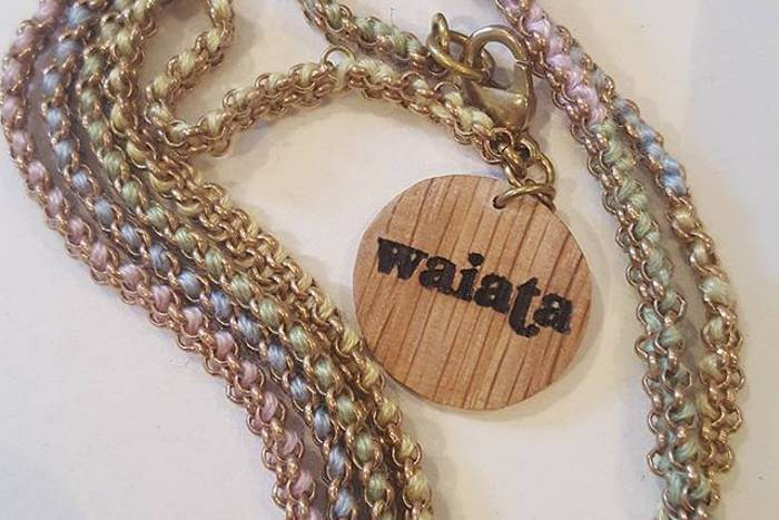 branded wooden tags for waiata