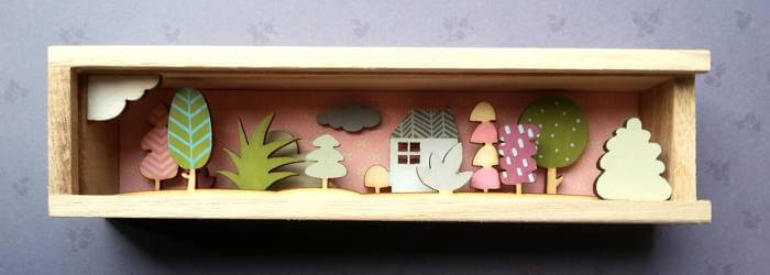Plywood shapes for Hooperhart's dioramas - LaserFlair