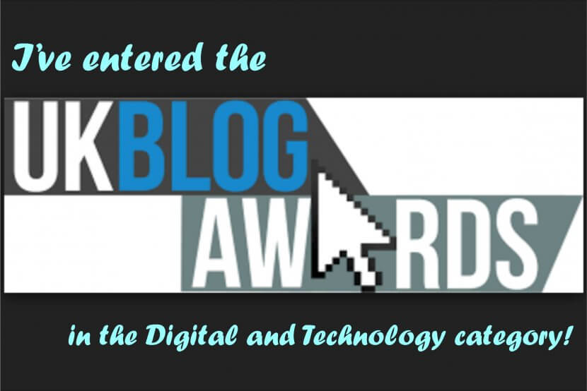 LaserFlair entered the UK Blog Awards