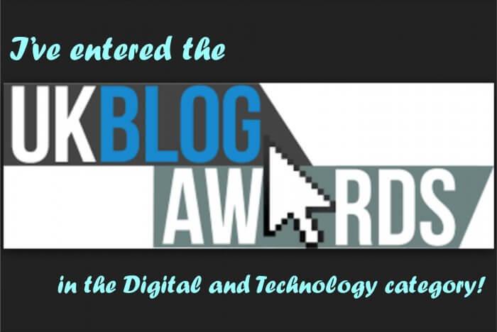 LaserFlair entered the UK Blog Awards