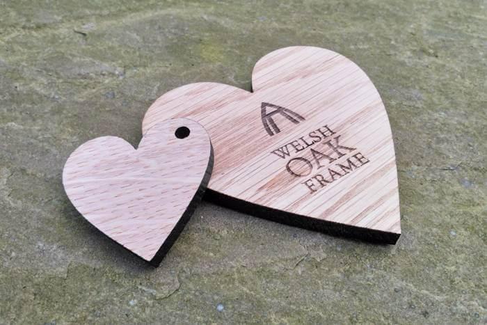 Welsh Oak Frame coaster