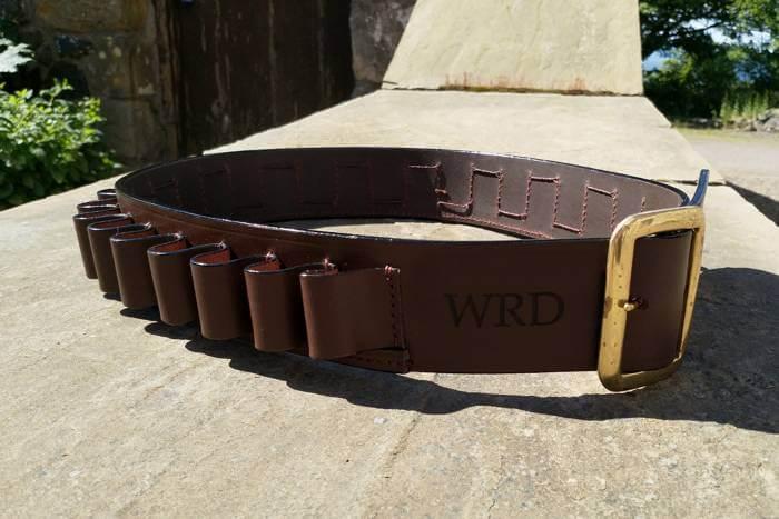laser engraved cartridge belt