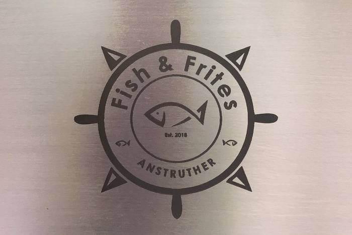 Fish & Frites festival menu boards