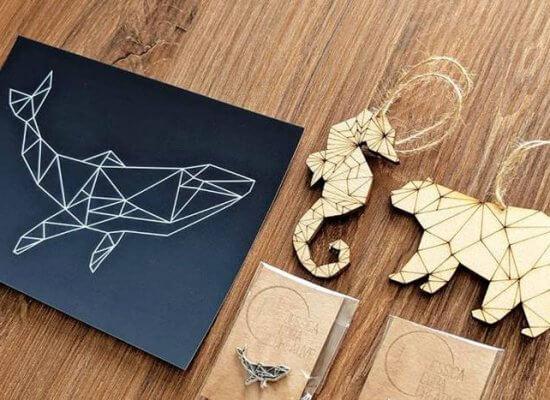 Adapting print artwork for laser cutting