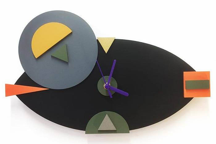 Sarah Peterson Design's geometric clocks