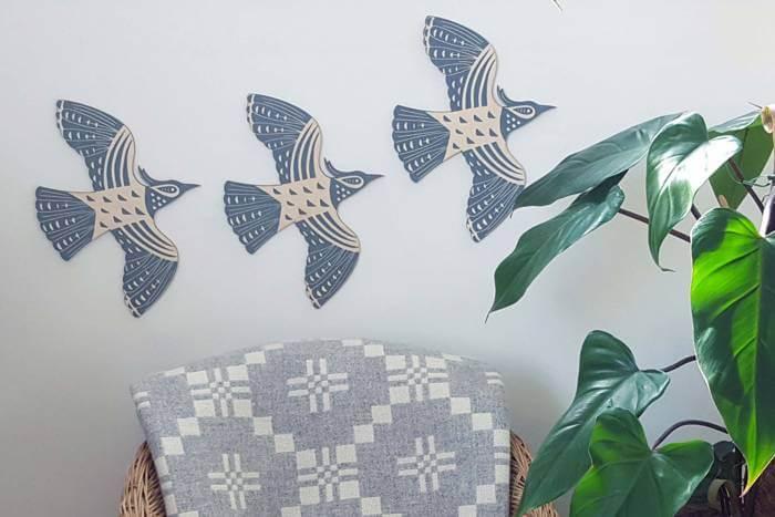 Plywood lapwings take flight!