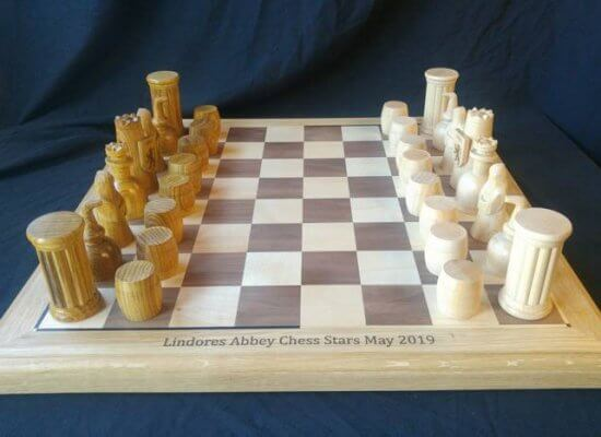 Lindores Chess Stars chess sets